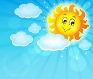 Image with happy sun theme 6 Stock Photo