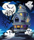 Image with haunted house thematics 5 Royalty Free Stock Photography