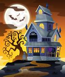 Image with haunted house thematics 2 Stock Photography