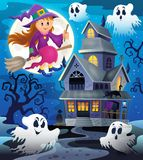 Image with haunted house thematics 8 Stock Photos