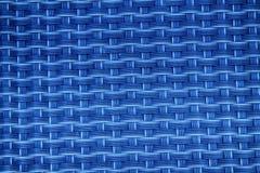 Image haute étroite de bleu de tapis noir de tiret avec des cellules de grille Photographie stock libre de droits