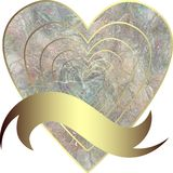 Image of heart without background Royalty Free Stock Photos