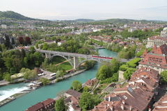 Bern on the high view Stock Photos