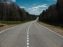 Image of highway to nowhere Royalty Free Stock Photo