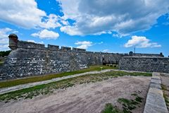 Castillo de San Marcos in St. Augustine, Florida, USA. This is am image of historic American fort, Castillo de San Marcos located in St. Augustine Florida, USA Stock Images