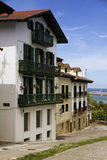Hondarribia town Stock Images