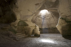 image horizontale de caverne de cloche Image libre de droits