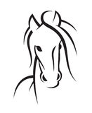 Image of an horse Royalty Free Stock Photos