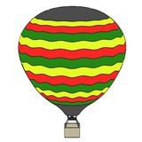 Image of hot air balloon Royalty Free Stock Images