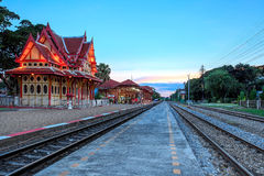An image of the Hua Hin Railway station Royalty Free Stock Photo