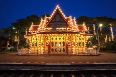 An image of the Hua Hin train station in Thailand Royalty Free Stock Images