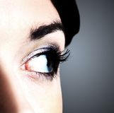 Image of human eye Royalty Free Stock Image