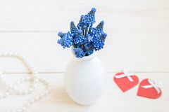 Image with hyacinths. Royalty Free Stock Image