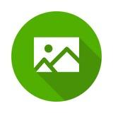 Image icon. Vector Glyphs Shadow Icon vector illustration