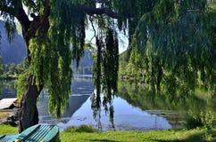 Image idyllique de l'amour à la première vue Image stock