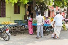 Image illustrative éditoriale Boutique des fruits et légumes Photos libres de droits