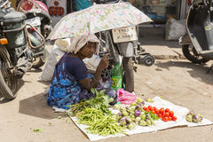 Image illustrative éditoriale Boutique des fruits et légumes Photo libre de droits