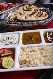 Image indienne de nourriture pour faire un certain vibraphone de postie photographie stock