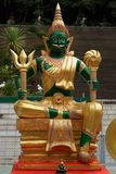 The image of Indra in Thai style 2 Royalty Free Stock Image