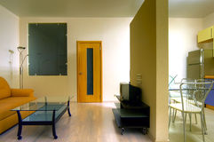 The image of an inhabited multiroom apartment Stock Photography
