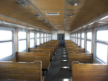 Inside of carriage electric train. Image of inside of carriage of electric train Royalty Free Stock Image