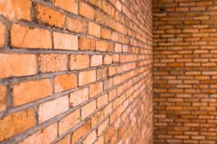 Brick Walls for Background stock images