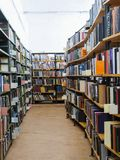 Interior of a library Stock Photography