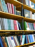 Interior of a library Royalty Free Stock Image