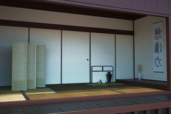 Image of the interior main room in the Japanese style Stock Photo