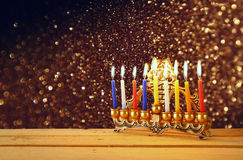Image of jewish holiday Hanukkah. Stock Photography