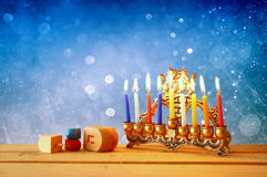 Image of jewish holiday Hanukkah. Image of jewish holiday Hanukkah Royalty Free Stock Image