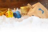 Image of jewish holiday Hanukkah Royalty Free Stock Images