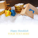 Image of jewish holiday Hanukkah.  Stock Photography