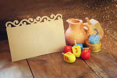 Image of jewish holiday Hanukkah Royalty Free Stock Photos