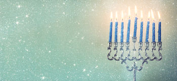 Image of jewish holiday Hanukkah Stock Images