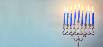 Image of jewish holiday Hanukkah Stock Image