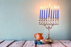 Image of jewish holiday Hanukkah Stock Photo