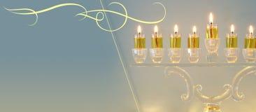 Image of jewish holiday Hanukkah background.  royalty free stock photos