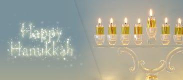 Image of jewish holiday Hanukkah background.  stock photos