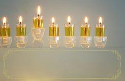 Image of jewish holiday Hanukkah background.  royalty free stock images