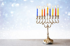 Image of jewish holiday Hanukkah background stock images