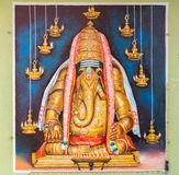 Image of Karpaga Vinayagar, Lord Ganesha. Royalty Free Stock Images