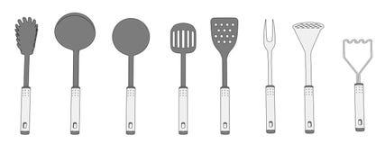 Kitchen Utensils Sketch Drawing Stock Photos – 0 Kitchen Utensils ...