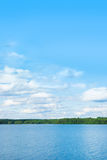 Image of lake and sky in Sweden Stock Photo