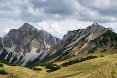Landscape Tannheimer Tal Austria. Image landscape of the Tannheimer Tal in Austria, Europe Stock Images