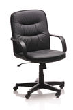 Image of a leather office chair Royalty Free Stock Images