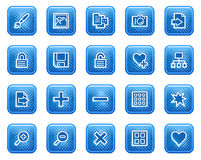 Image library web icons Stock Images