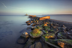 Image of a lighthouse , Baltic Sea Stock Photo