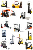 The image of loaders Royalty Free Stock Photo