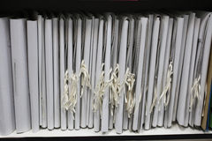 The image of loose-leaf binder Stock Image